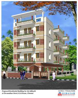Flats for Sale in Mandhaveli.