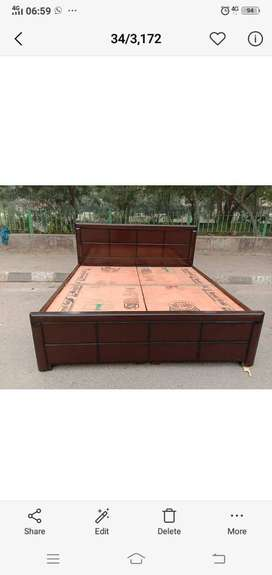 Double bed - single bed available - home delivery