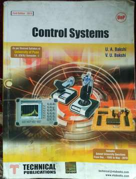 Old Control Systems  book by Uday Bakshi