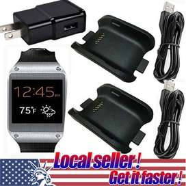 Galaxy Gear charger dock/straps/battery/panel/box ! V700 gear watch