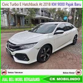 Civic Turbo E HB At 2018 KM 9000 ANTIK Bisa Kredit