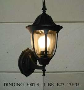 Lampu dinding klasik hias rumah taman pagar pilar murah