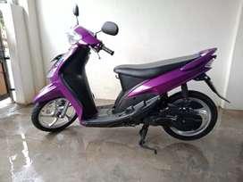 Mio MX asli tahun 2008,surat lengkap,plat Lampung Selatan