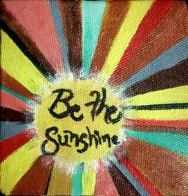 'Be The Sunshine' Miniature Painting