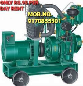 GENERATORS ONLY RS.95  PER DAY RENT N SALE WITH 2 YEAR WARRANTY