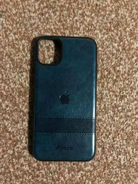 Iphone 11 leather cover