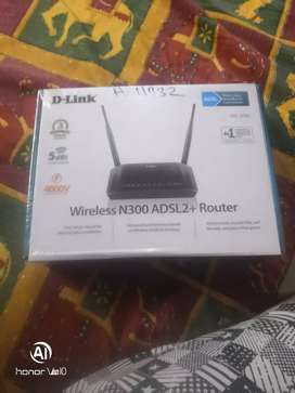 D-Link ADSL2+ WIRELESS ROUTER Brand New