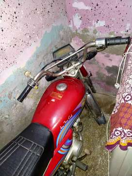 Red colour good condition All parts good urgent sell