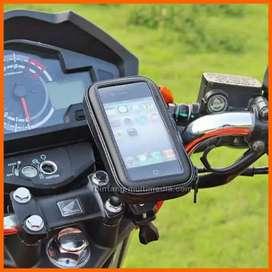 Holder Handphone Waterproof Di Stang Motor