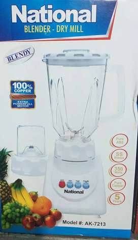 2 in 1 juicers  100 % coper moter k sath ..3 month moter warranty
