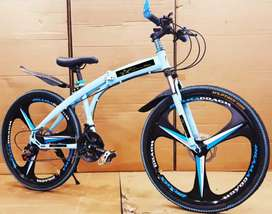 MB Shark Foldable Bicycles With 21 Speed Gears Available in Ahmedabad