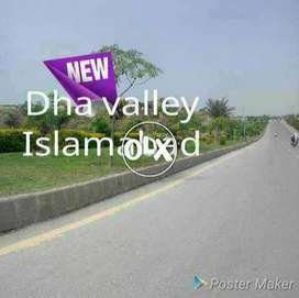 bluebell ballot plot for sales in dha valley Islamabad all paid