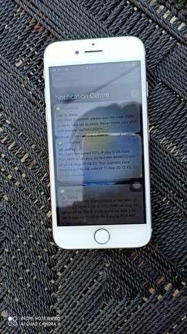 iPhone 7 128gb  charger  hadephone nal