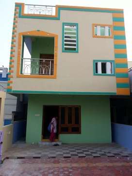 INDIVIDUAL DUPLEX HOUSE of 1500 sft with wide car parking