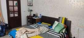 One room set fully furnished well built at vikas nagar.