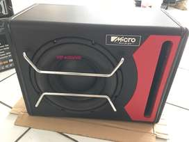 Active Power Subwoofer 10 Inch Aktif Bagasi Mobil Box Oscar