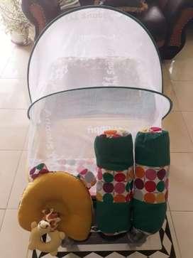 Kasur Bayi kelambu Snobby Lipat marble TPK 1091 (Prelove)