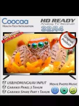 COOCAA 32 Inch TV LED 32A4 (New) *Harga Murah *Bergaransi Resmi