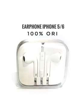 Earpods/Earphone/Headshet Iphone 5/6 ORIGINAL 100%