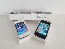 Iphone 4s box pack with seller warranty. With all accessories