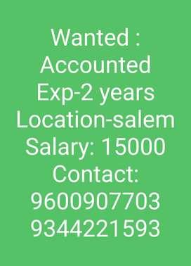 Need office accountant