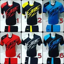 Kaos olahraga futsal jersey bola/ volly/ badminton