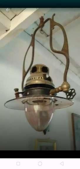 Lampu gantung gaspom kuningan