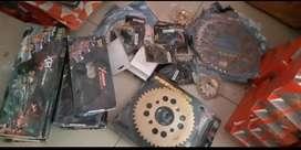 Gear set 415 FU,Mx king,sonic,CBR150,GSX,R15,Vixion,byson,ninja 150
