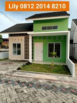 Rumah asri nuansa hijau di tengkubey