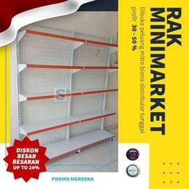Rak Gondola / Rak Minimarket Murah