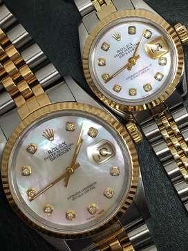 Promo Rolex sepasang diamond Dial