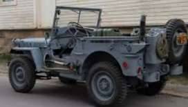Willys modified classic jeep