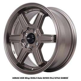 harga velg hsr wheel - minas hsr ukuran 15 avanza freed valco march