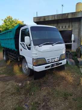Jual truk dump isuzu elf tahun 2011 macan