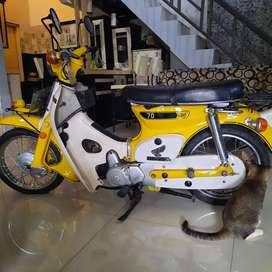 Honda cub 70 tahun 83