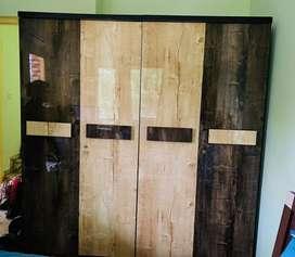 4 door Wardrobe with dressing table