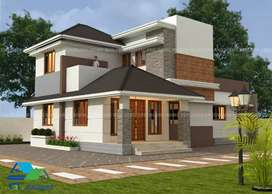 Traditional mix with modern contemporary style luxury Villa