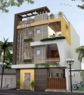 58 Lakh me 100 Gaj Duplex Corner House Opp Ekta Nagar Gyanayay School
