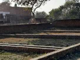 लखनऊ शहर के समीप तुरंत रहने योग्य प्लाट देवा रोड पर नगर निगम में
