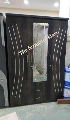 3 door wooden cabinet brand new