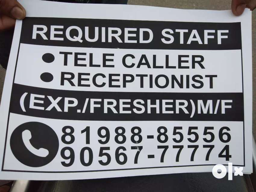 Required staff tele caller counslor 0