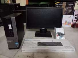Dell i3 PC  4gb ram 256gb hdd 2gb graphic hd only cpu price@7499/- fix