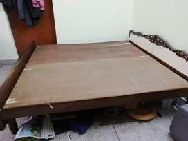 Bed without box good condition at Clementine Dehradun