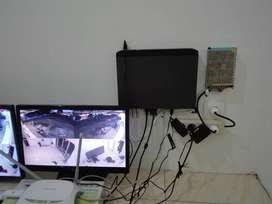 Paket DVR NVR 8 Ch CCTV HKM ANALOG 4 In 1 IP CAMERA