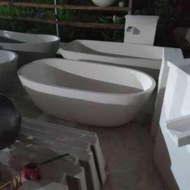 Bathtub Terazzo Handmade Bali Unik dan Cantik