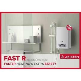 PROMO Water Heater Gas Ariston tipe FAST R