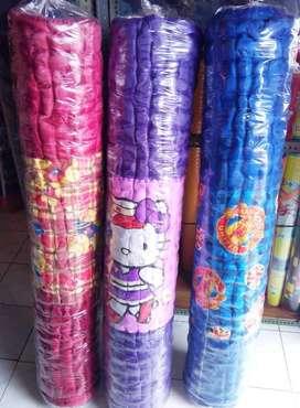 Kasur Tikar Karpet Lantai Gulung Lipat Palembang Busa Dakron Dacron