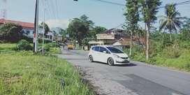 Kontrakan tanah 1500 meter lebar muka 37 meter SHM di Salatiga