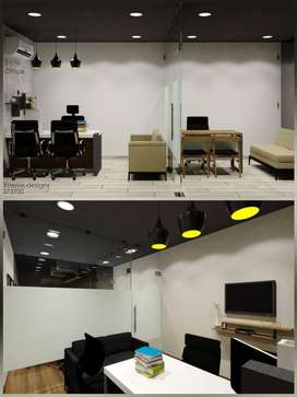 Commercial space for it offices shops fully furnished in dindoli