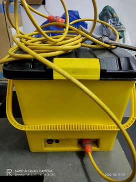 Car & bike washer 25L with rechargable